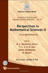 Sastry N.S.N. (ed.), Rao T.S.S.R.K. (ed.), Delampady M. (ed.) — Perspectives in mathematical sciences II: Pure mathematics