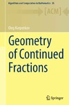 Karpenkov O. — Geometry of Continued Fractions