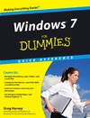Harvey G. — Windows 7 For Dummies Quick Reference