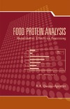 Owusu-Apenten R. — Food Protein Analysis: Quantitative Effects On Processing