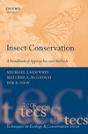 Samways M., McGeoch M., New T. — Insect Conservation: A Handbook of Approaches and Methods