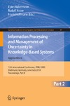 Kruse R., Hoffmann F. — Information Processing and Management of Uncertainty in Knowledge-Based Systems, Part II