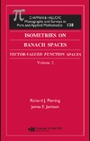 Fleming R.J., Jamison J.E. — Isometries on Banach Spaces. Volume 2