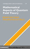 Edson de Faria, Welington de Melo — Mathematical Aspects of Quantum Field Theory