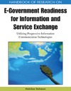 Rahman H. — Handbook of Research on E-government Readiness for Information and Service Exchange: Utilizing Progressive Information Communication Technologies ... Government Research