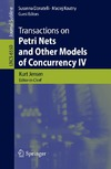 Jensen K., Donatelli S., Koutny M. — Transactions on Petri Nets and Other Models of Concurrency IV