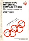 Klamkin M.S. — International mathematical olympiads 1978-1985 and forty supplementary problems