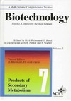 Kleinkauf H., von Dohren H. — Biotechnology, Products of Secondary Metabolism