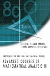 Sanchez J., Benavides T. — Advanced Course Of Mathematical Analysis III: Proceedings of the Third International School La Rabida, Spain, 3 - 7 September 2007 (No. 3)