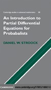 Daniel W. Stroock — Partial differential equations for probabilists