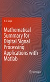Gopi E.S. — Mathematical Summary for Digital Signal Processing Applications with Matlab