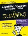 Simpson A. — Visual Web Developer 2005 Express Edition For Dummies