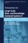 Wagner R., Küng J., Hameurlain A. — Transactions on Large-Scale Data- and Knowledge-Centered Systems X: Special Issue on Database- and Expert-Systems Applications