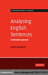 Radford A. — Analysing English Sentences: A Minimalist Approach