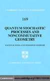 Sinha K., Goswami D. — Quantum stochastic processes and noncommutative geometry