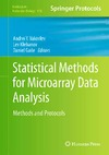 Yakovlev A., Klebanov L., Gaile D. — Statistical Methods for Microarray Data Analysis: Methods and Protocols