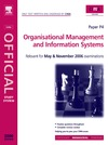B.Perry — CIMA study Systems 2006 : Organisational Management and information Systems (CIMA Study Systems Managerial Level 2006)