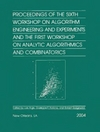 Arge L. (ed.), Italiano G.F. (ed.), Sedgewick R. (ed.) — Proceedings of the Sixth Workshop on Algorithm Engineering and Experiments and the First Workshop on Analytic Algorithmics and Combinatorics