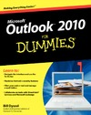 Dyszel B. — Outlook 2010 All-in-One For Dummies
