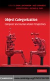 Dickinson S., Leonardis A., Schiele B. — Object Categorization: Computer and Human Vision Perspectives