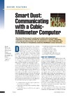 Warneke B. — Smart dust: Communicating with a cubic-millimeter computer