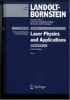 Herziger G., Beranek J., Hugenschmidt M. — Laser Physics  and Applications  Subvolume B: Laser Systems  Part 1