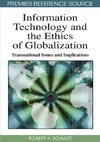 Schultz R.A. — Information Technology and the Ethics of Globalization: Transnational Issues and Implications