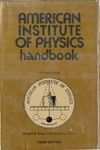 Gray D. — American Institute of Physics Handbook