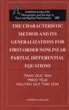 Van T., Tsuji M., Son N. — The characteristic method and its generalizations for first-order nonlinear PDEs