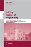 Dunne S., Stoddart B. — Unifying Theories of Programming: First International Symposium, UTP 2006, Walworth Castle, County Durham, UK, February 5-7, 2006, Revised Selected Papers ... Computer Science and General Issues)