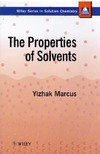 Marcus Y. — The Properties of Solvents [Solution Chemistry
