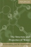Eisenberg D., Kauzmann W. — The Structure and Properties of Water