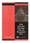 Garson G. — Public Information Technology: Policy and Management Issues