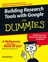 Davis H. — Building Research Tools With Google For Dummies