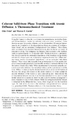Eliot Fried — Coherent Solid-State Phase Transitions with Atomic Diffusion: A Thermomechanical Treatment