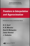 Govil N., Mhaskar H., Mohapatra R. — Frontiers in Interpolation and Approximation