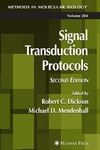 Dickson R., Mendenhall M. — Signal Transduction Protocols (Methods in Molecular Biology) (Methods in Molecular Biology)