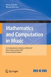 Klouche T., Noll T. — Mathematics and Computation in Music: First International Conference, MCM 2007, Berlin, Germany, May 18-20, 2007. Revised Selected Papers (Communications in Computer and Information Science)
