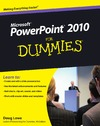 Lowe D. — PowerPoint 2010 For Dummies (For Dummies (Computer Tech))