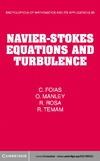 Foias C., Manley O., Rosa R. — Navier-Stokes Equations and Turbulence (Encyclopedia of Mathematics and its Applications)
