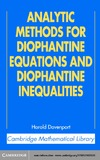Davenport H., Browning T. — Analytic methods for diophantine equations and diophantine inequalities
