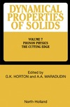 Horton G., Maradudin A. — Dynamical Properties of Solids : Phonon Physics The Cutting Edge (Dynamical Properties of Solids)