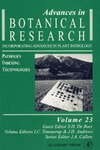 J. A. Callow, S. H. De Boer, John H. Andrews — Advances in Botanical Research, Volume 23: Pathogen Indexing Technologies