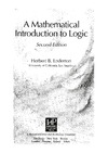 Enderton H. — A Mathematical Introduction to Logic
