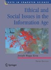 Kizza J. — Ethical and Social Issues in the Information Age (Texts in Computer Science)