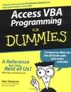 Simpson A. — Access VBA Programming For Dummies