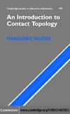 Geiges H. — An Introduction to Contact Topology (Cambridge Studies in Advanced Mathematics)