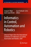 Filipe J., Ferrier J.-L., Cetto J.A. — Informatics in Control Automation and Robotics