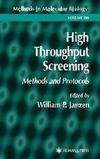 Janzen W. — High Throughput Screening: Methods and Protocols