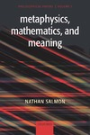 Salmon N. — Metaphysics, Mathematics, and Meaning: Philosophical Papers I